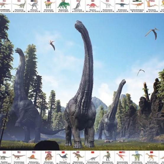 Накладка на стіл Динозаври
