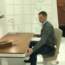 На выставке imm cologne 2019 был презентован письменный стол moll L7