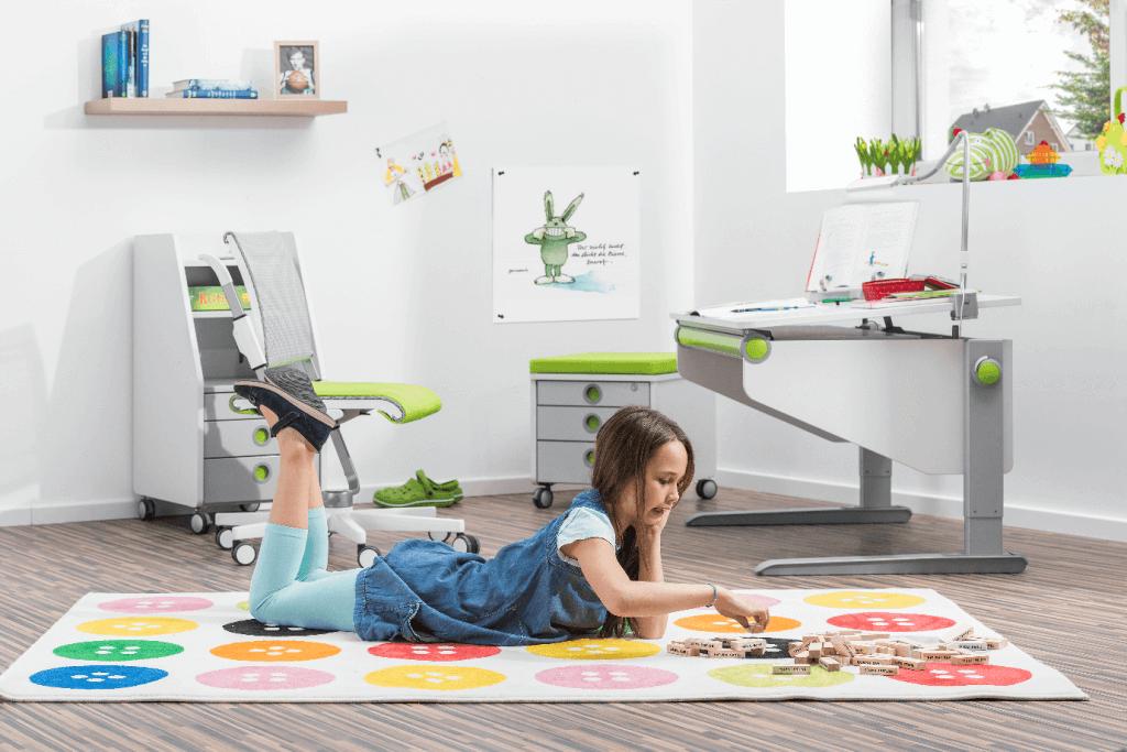 Благоприятные цвета для интерьера детской