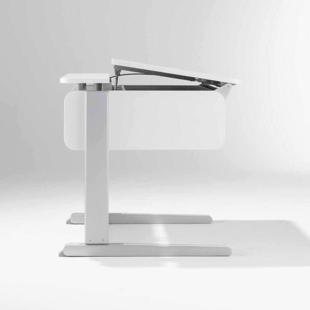 Регулировка высоты и угла наклона письменного стола Champion Compact Express