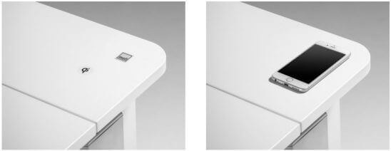 QI-зарядное устройство для Стола Champion Compact Express