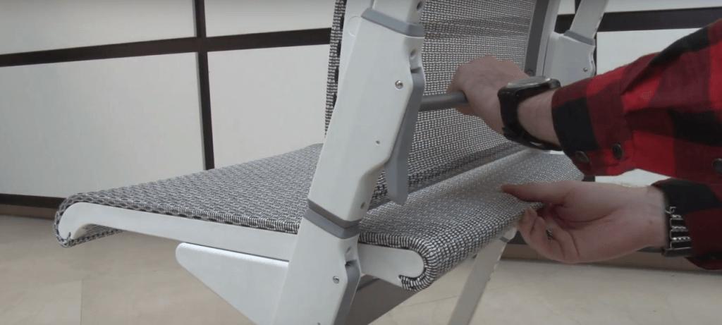 Регулировка сиденья стула